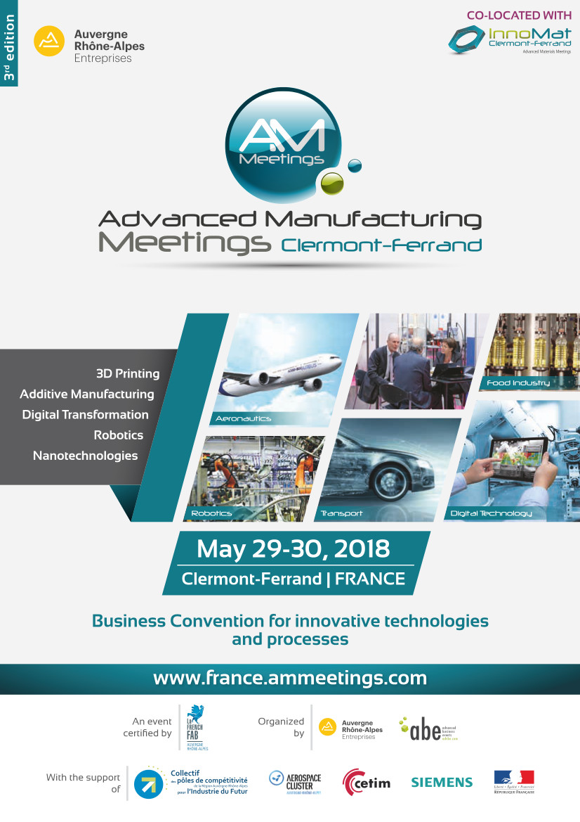 Cover Advanced Manufacturing Meetings Brochure